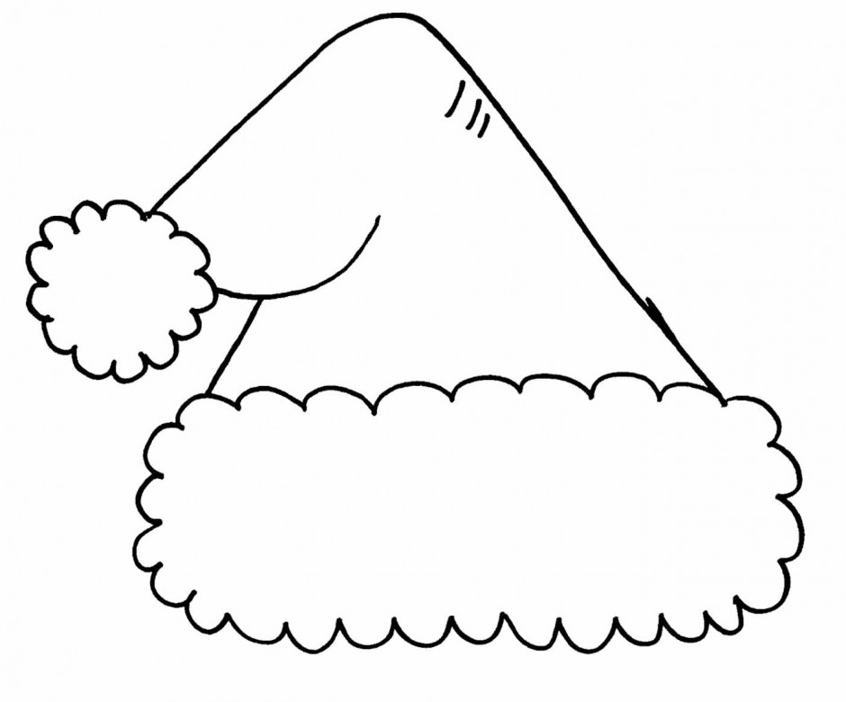 2 piece santa hat clipart black and white vector transparent download Hat black and white free santa hat clipart black and white ... vector transparent download