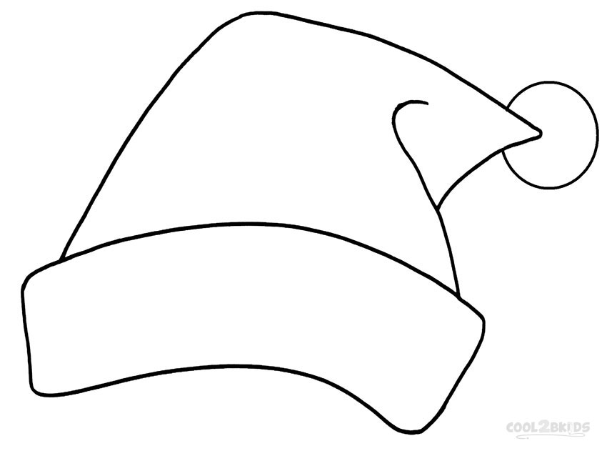 2 piece santa hat clipart black and white banner freeuse download Picture Of A Santa Hat | Free download best Picture Of A Santa Hat ... banner freeuse download