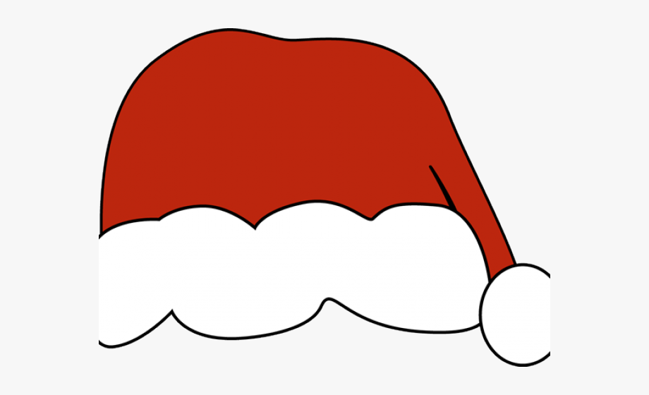 2 piece santa hat clipart black and white banner transparent Santa Hat Clipart Drawn - Santa Hat Clip Art #324163 - Free Cliparts ... banner transparent