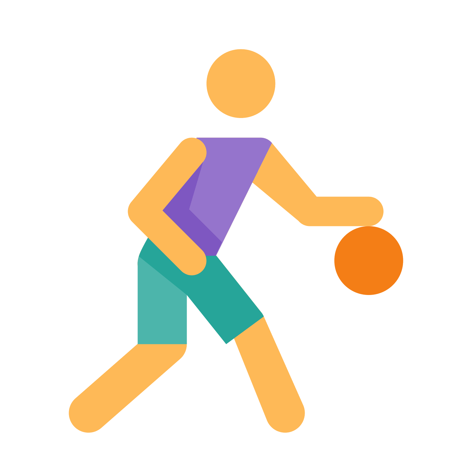 2 player basketball clipart royalty free download Basketball Player Icon - free download, PNG and vector royalty free download