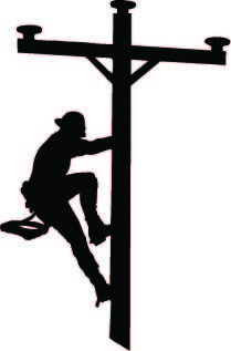 Lineman clipart electrical image free library lineman+apparel | inch Climbing Lineman Vinyl Decal | Cool | Lineman ... image free library