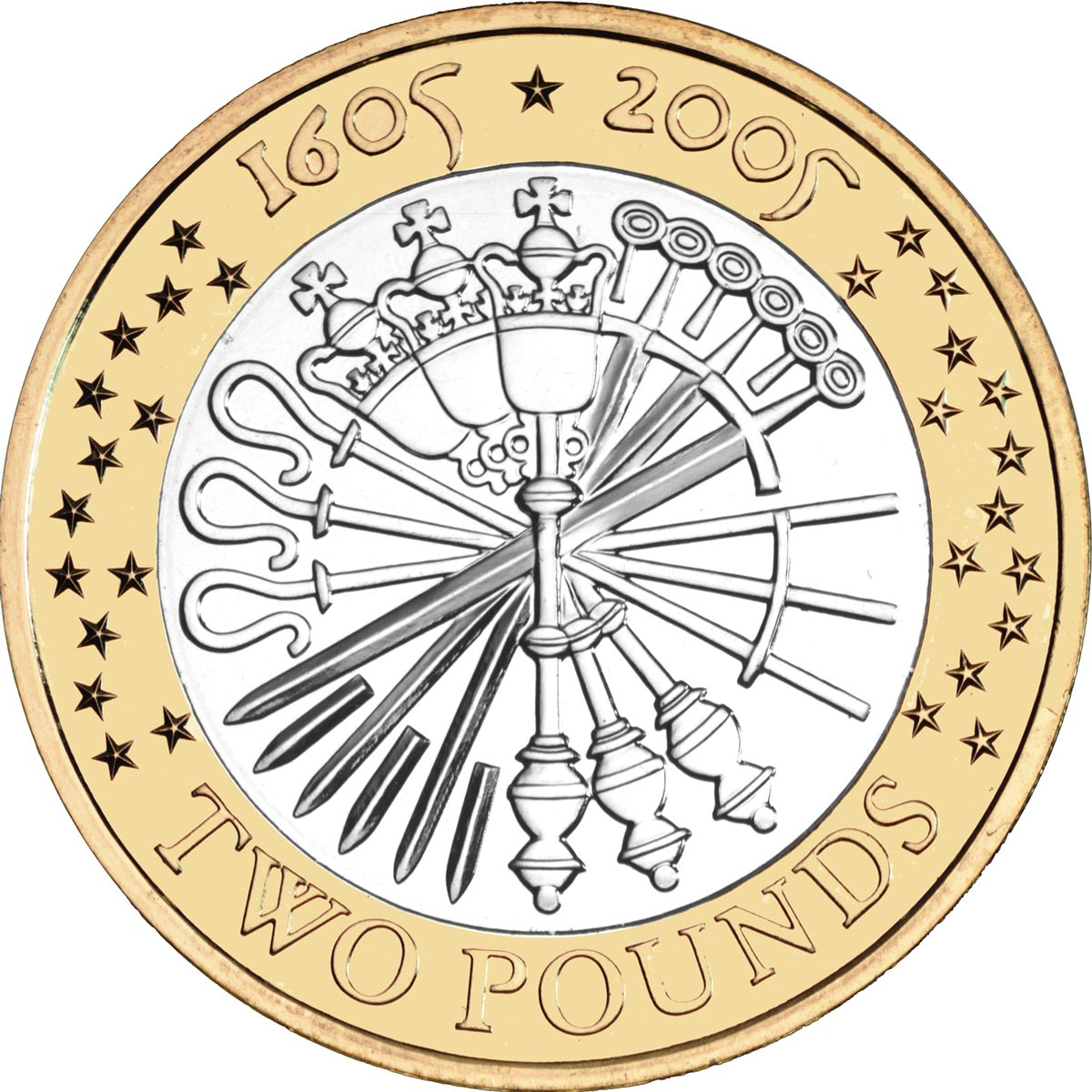 2 pound coin clipart png free library 2 pounds coin - 400th anniversary of the Gunpowder Plot | United ... png free library