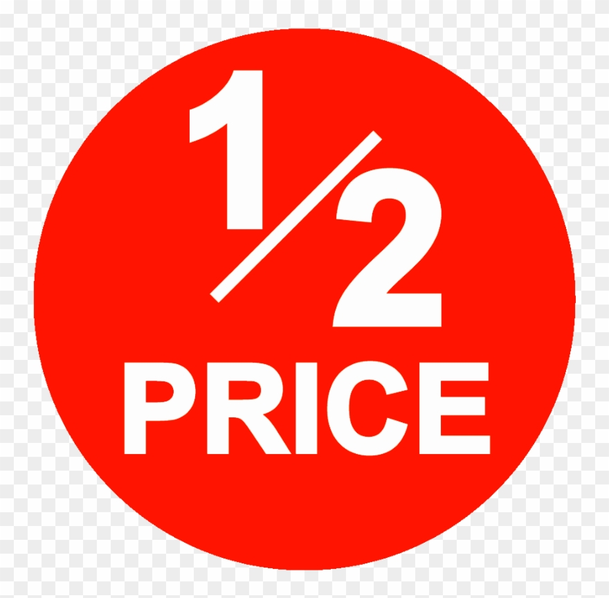 2 price clipart jpg free library Image Result For 1/2 Price For Sale Sign, Thrifting, - 1 2 Price ... jpg free library