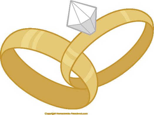 Interlocking wedding ring clipart clipart royalty free stock Free wedding rings clipart - Clipartix clipart royalty free stock