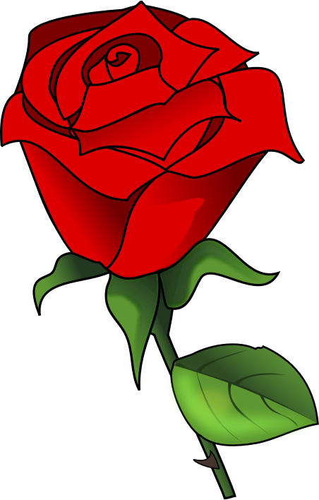 2 roses clipart picture library stock Rose free to use cliparts 2 | png | Red roses, Single red rose, Clip art picture library stock