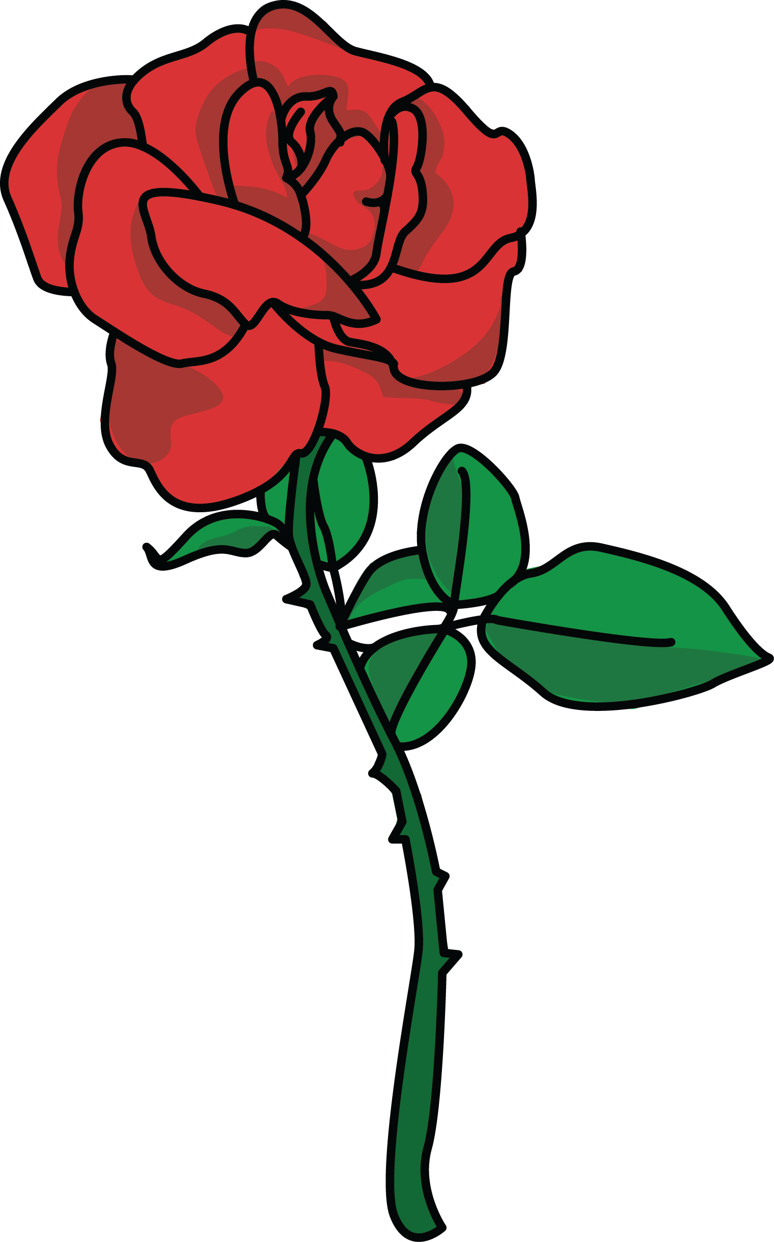 2 roses clipart picture transparent download Extraordinary Rose Clip Art Creative Inspiration Image Of Red 2 ... picture transparent download