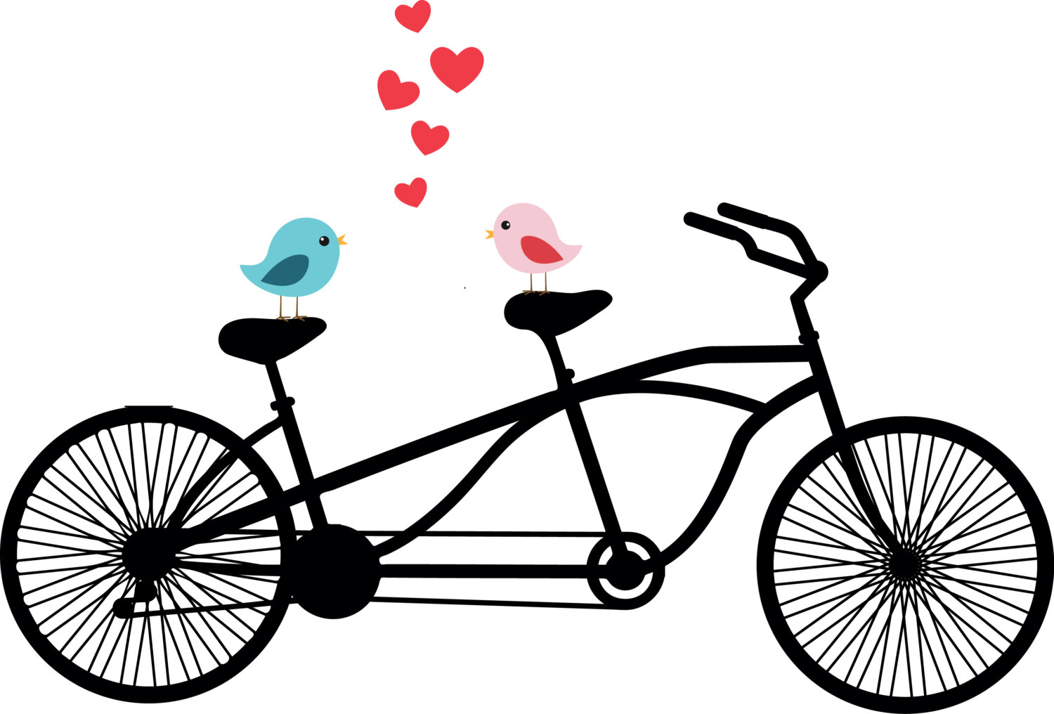 Vintage tandem bike clipart clipart download Bike free bicycle clip art free vector for free download about 4 2 2 ... clipart download