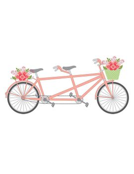 2 seater bike clipart graphic black and white download Tandem Bike Clipart | Free download best Tandem Bike Clipart on ... graphic black and white download