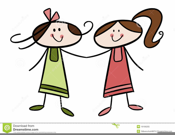 Sisters clipart free free download Two Sisters Clipart Free Images At Clker Com Vector Clip Art ... free download