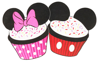 2 sided minnie mouse cupcake head clipart graphic black and white stock Disney Art Mickey Heads | Mickey heads | Disney cupcakes, Minnie ... graphic black and white stock