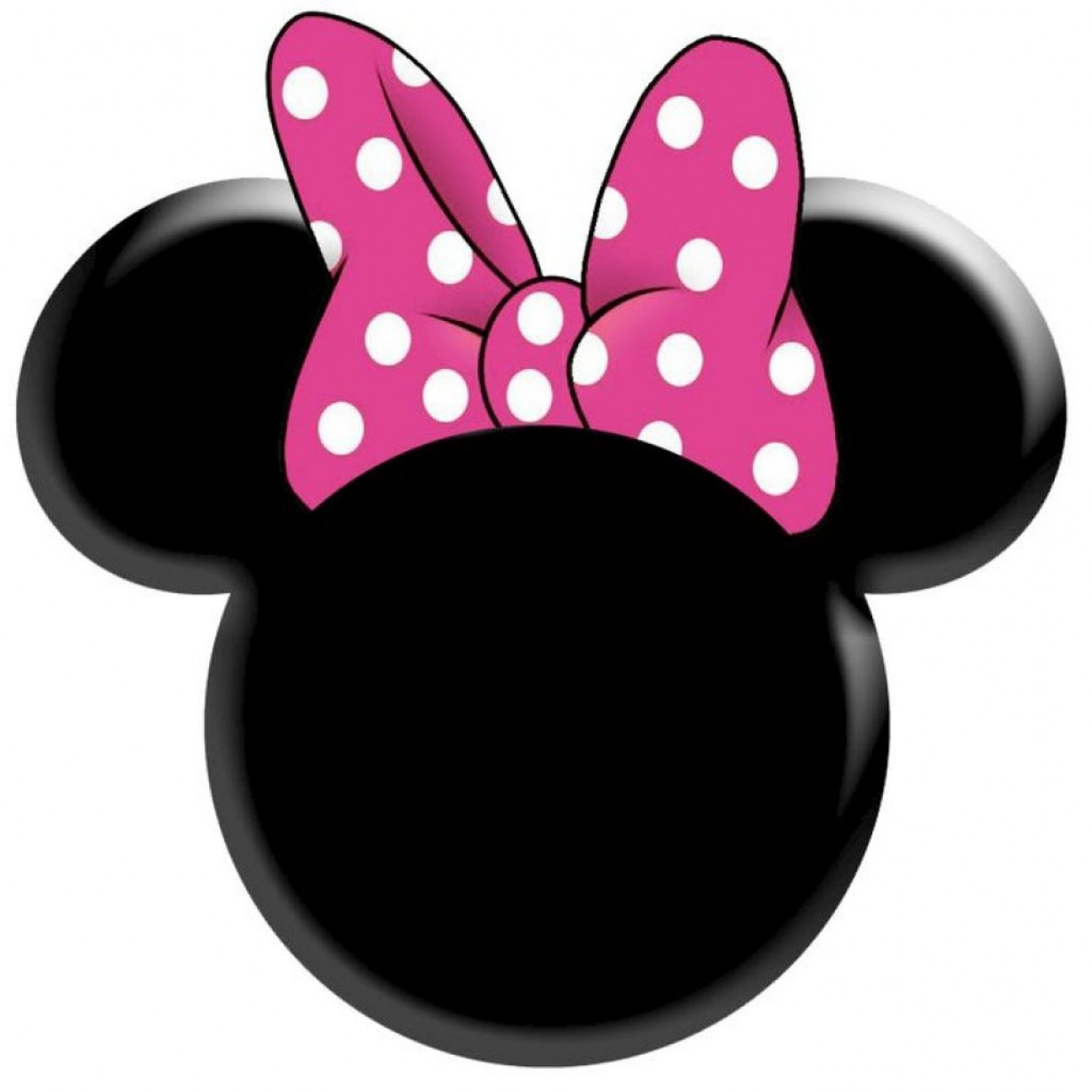 2 sided minnie mouse cupcake head clipart png stock Pink Minnie Bow Vector | SOIDERGI png stock