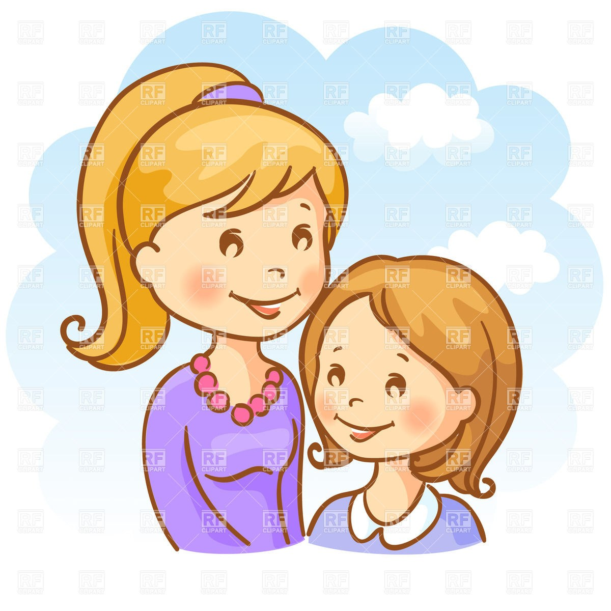 2 sister clipart jpg library library 2 sisters clipart 5 » Clipart Portal jpg library library