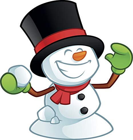 2 snowball snowman clipart clipart free Amazon.com: Happy Smiling Excited Snowman In Snowball Fight Cartoon ... clipart free
