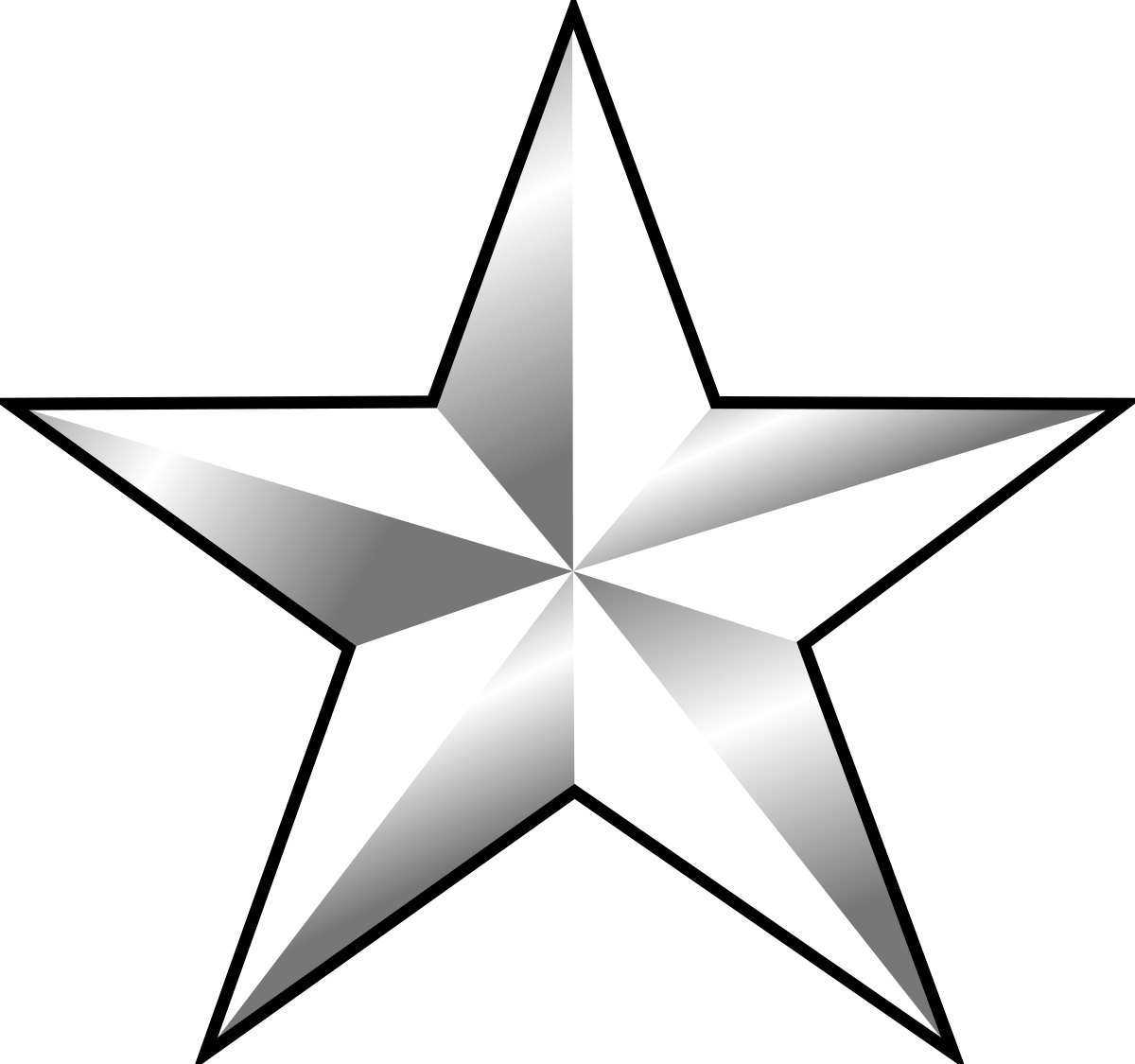 Naval star clipart image royalty free stock One-star rank - Wikipedia image royalty free stock