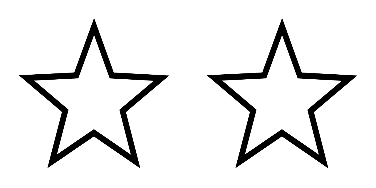 2 star clipart clip library download File:White Stars 2.svg - Wikimedia Commons clip library download