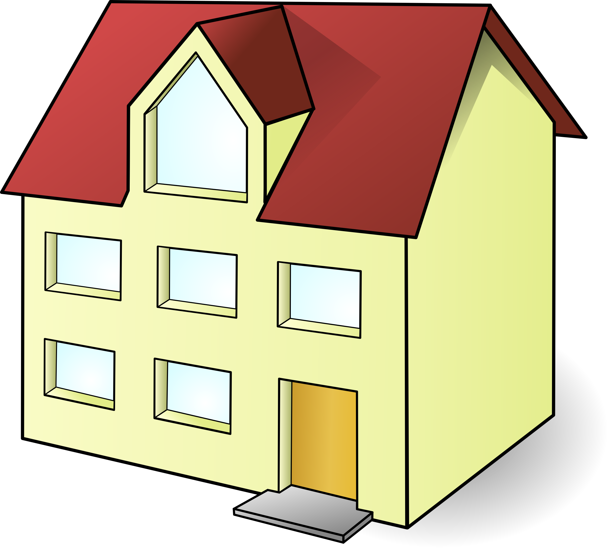 Clipart house building picture freeuse Big House Double Story Photos picture freeuse