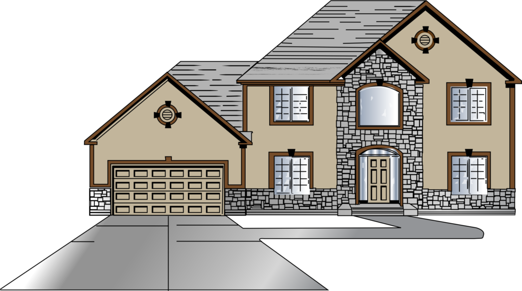 Minecraft house clipart clipart freeuse download Big House Drawing at GetDrawings.com | Free for personal use Big ... clipart freeuse download