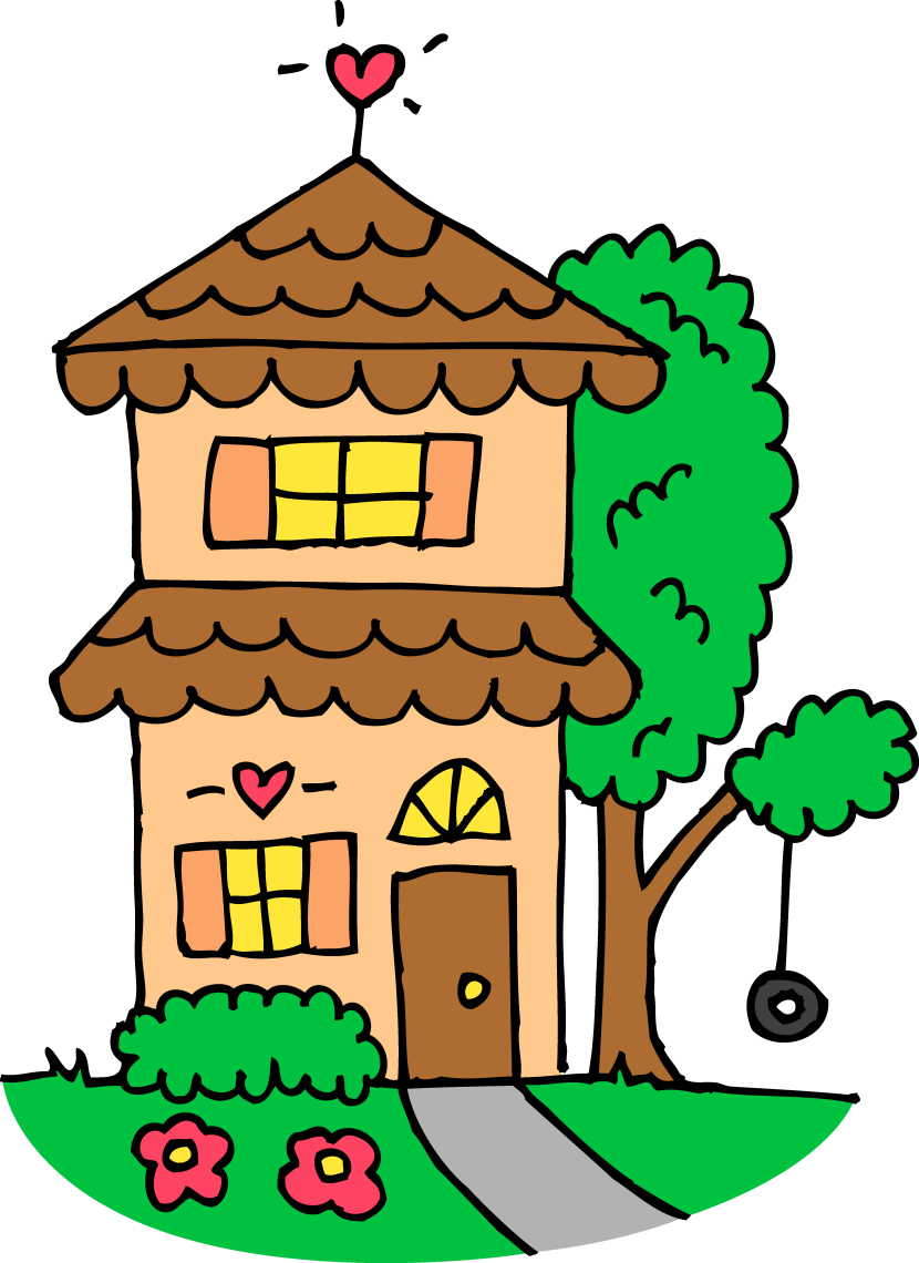 Bad house clipart svg free library 28+ Collection of Home Clipart | High quality, free cliparts ... svg free library