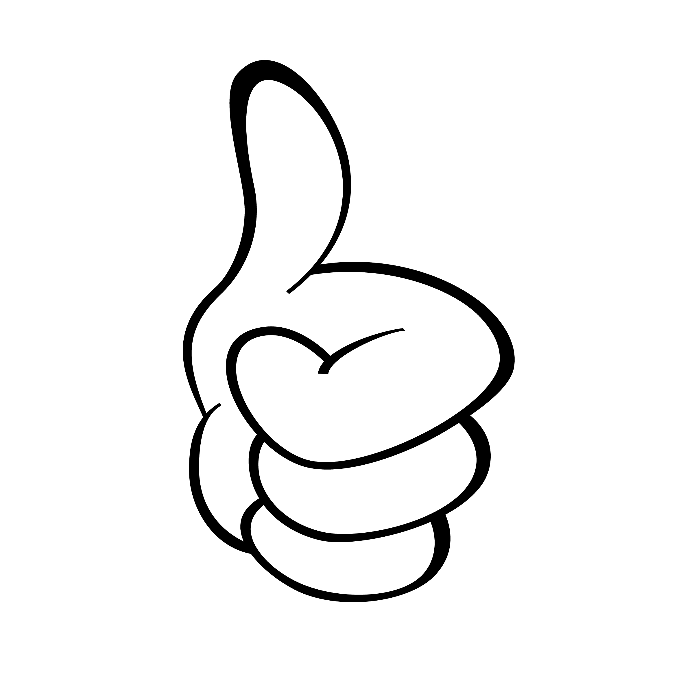 2 thumbs clipart graphic black and white stock Two Thumbs Up Pic | Free download best Two Thumbs Up Pic on ... graphic black and white stock
