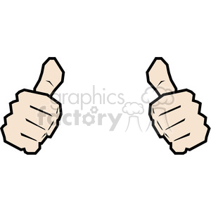 2 thumbs clipart clip black and white library two thumbs up this person image clipart. Royalty-free clipart # 390033 clip black and white library