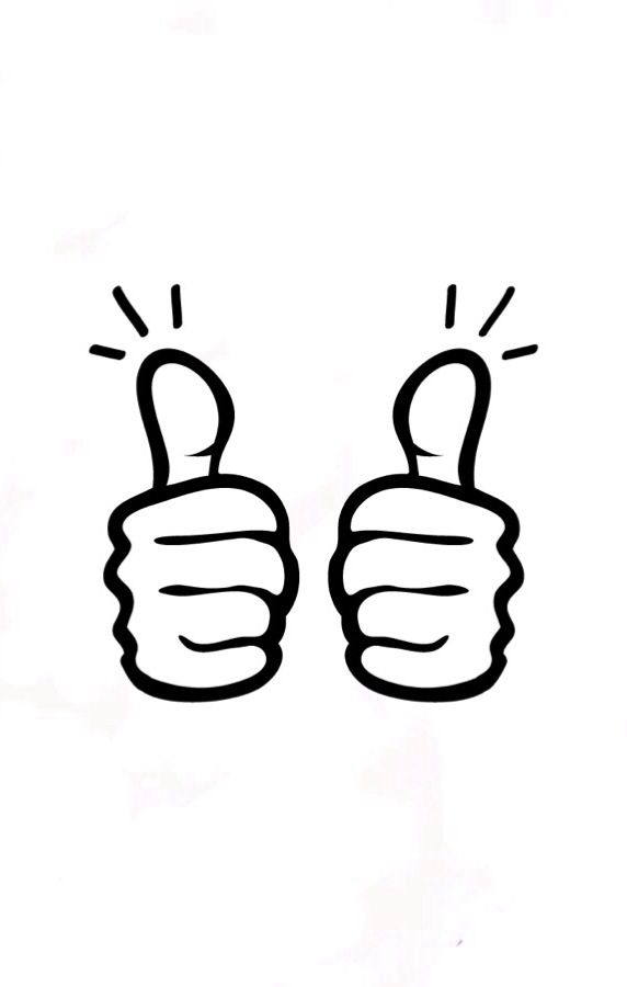 2 thumbs clipart clip library download Two thumbs up | Linocut clip library download
