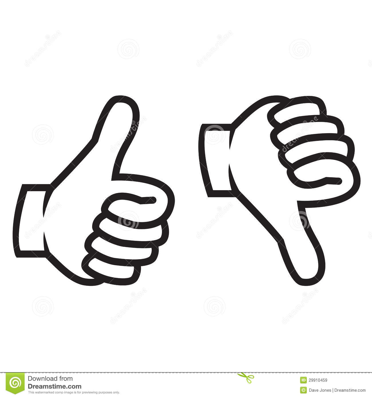 2 thumbs up clipart. Two kid down gesture