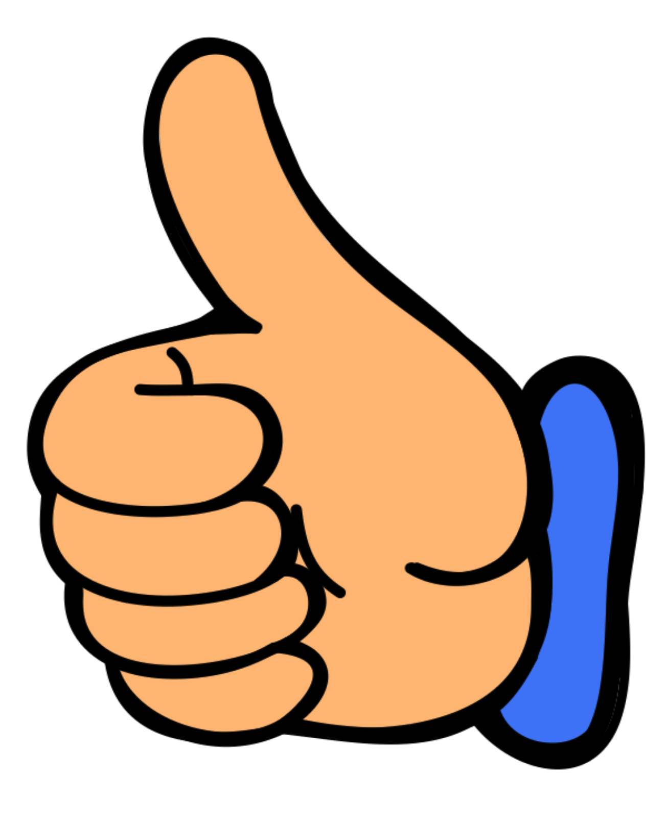 Two Thumbs Up Clipart - Clipart Kid svg stock