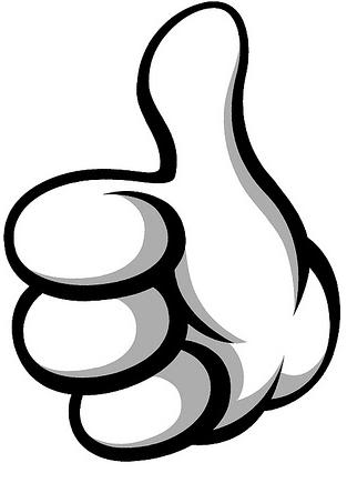 2 thumbs up clipart picture freeuse library Free Thumbs Up Clipart Pictures - Clipartix picture freeuse library