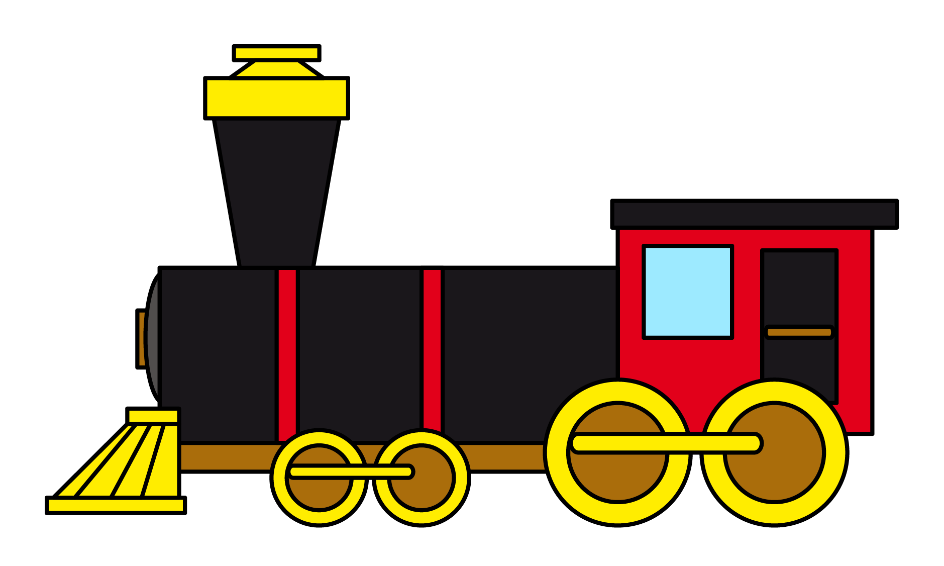 Curve railroad royalty clipart free png clipart transparent stock Train free to use clip art 2 - Cliparting.com clipart transparent stock