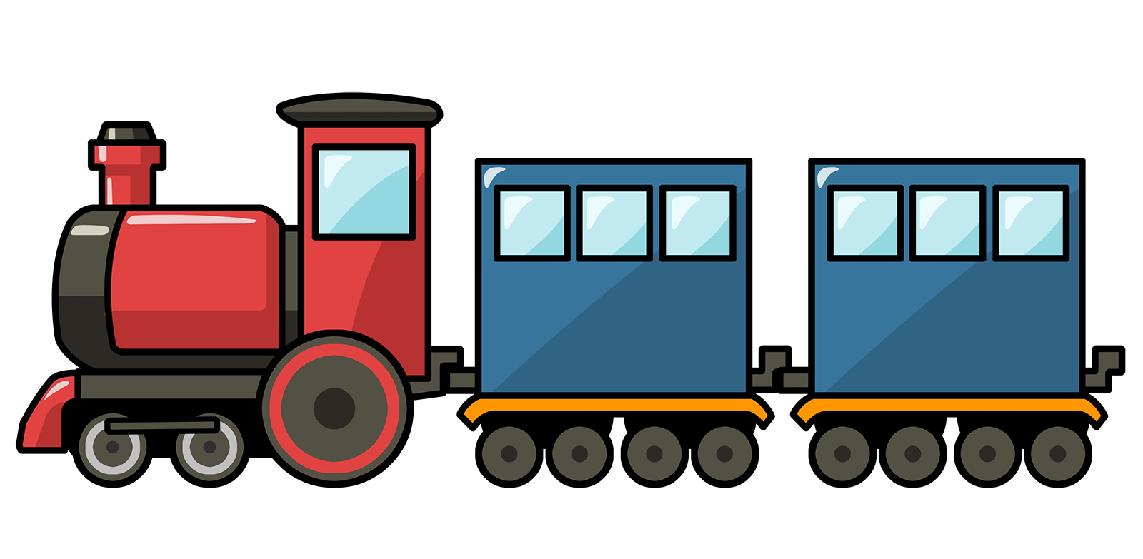 Passenger train clipart graphic free library Free Free Train Clipart, Download Free Clip Art, Free Clip Art on ... graphic free library