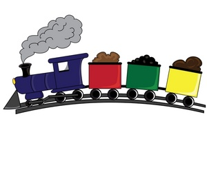 Train on tracks clipart clipart free download Choo train clipart free images 2 - ClipartBarn clipart free download