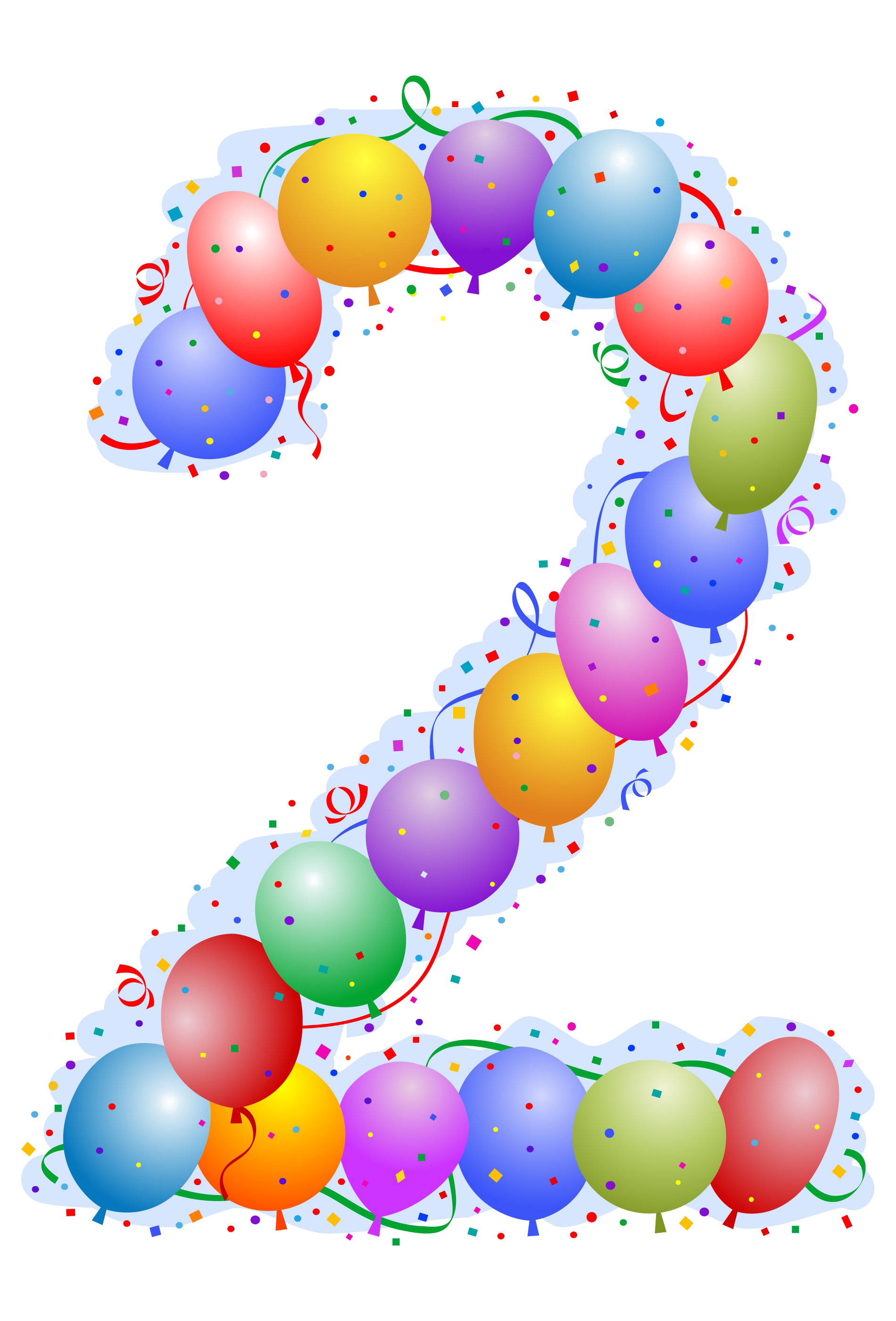 2 transparent clipart graphic 2 Number PNG Transparent Images | PNG All graphic