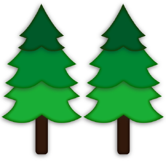 2 trees clipart svg free download Pine tree christmas svg on trees clip art and 2 - Cliparting.com svg free download