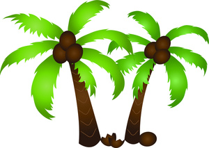 2 trees clipart svg free stock Palm tree clip art free clipart images 2 - Clipartix svg free stock
