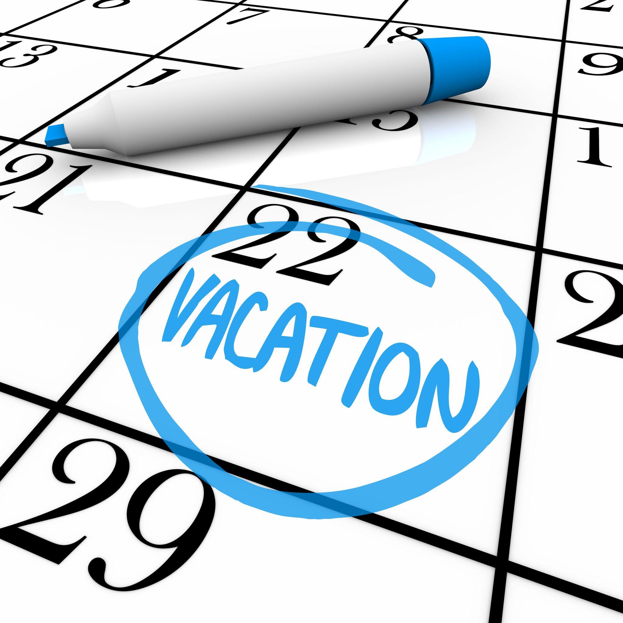 2 week vacation clipart calenda vector transparent download Vacation Dream Makers vector transparent download