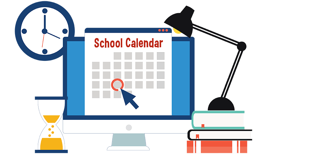 3-hour early dismissal clipart vector royalty free School Calendars vector royalty free