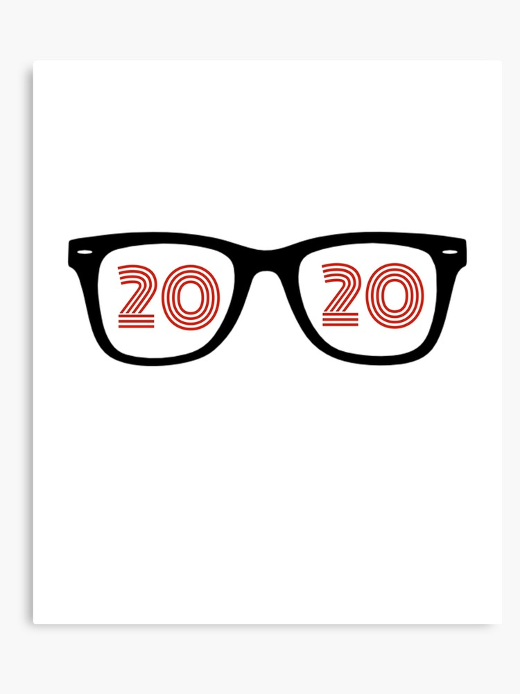 20 20 vision clipart image stock Eyeglasses Glasses 20/20 Optometrist Eye Doctor Hipster Optician | Canvas  Print image stock
