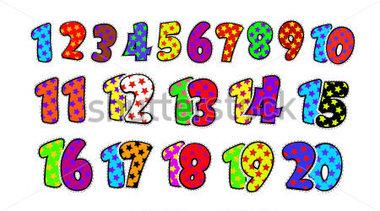 20 clip art clip art freeuse download Clipart numbers 1 20 - ClipartFest clip art freeuse download