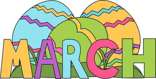 March clipart free