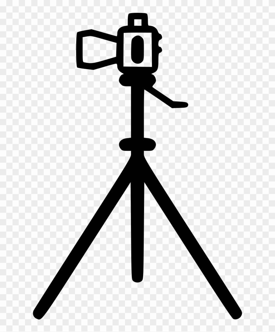 20 clipart photography black and white library Camera Stand Comments - Professional Photography Photography Icon ... black and white library