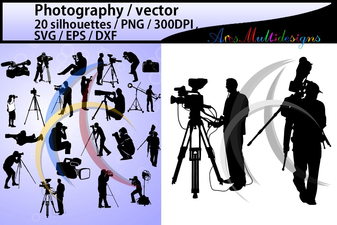 20 clipart photography image royalty free photography silhouette photography SVG Cutting Templates clipart printable  photography HQ SVG files photo PNg EPs Dxf image royalty free