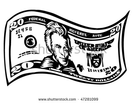 20 dollar bill free vector download (406 Free vector) for ... clip art free