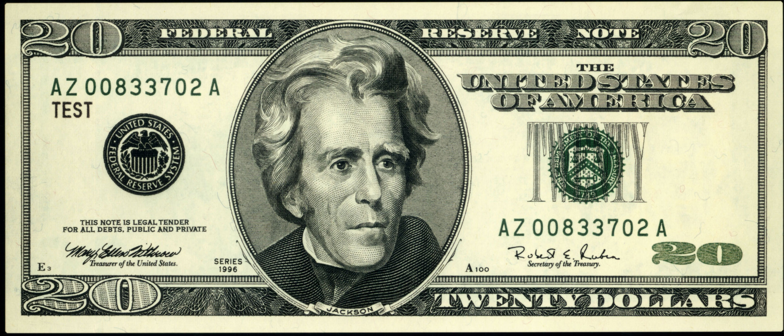20 dollar bill clipart picture black and white library $20 Bill Clipart - Clipart Kid picture black and white library