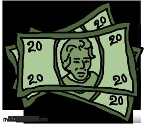 20 dollar bill clipart vector free library 20 dollar bill clipart - ClipartFest vector free library
