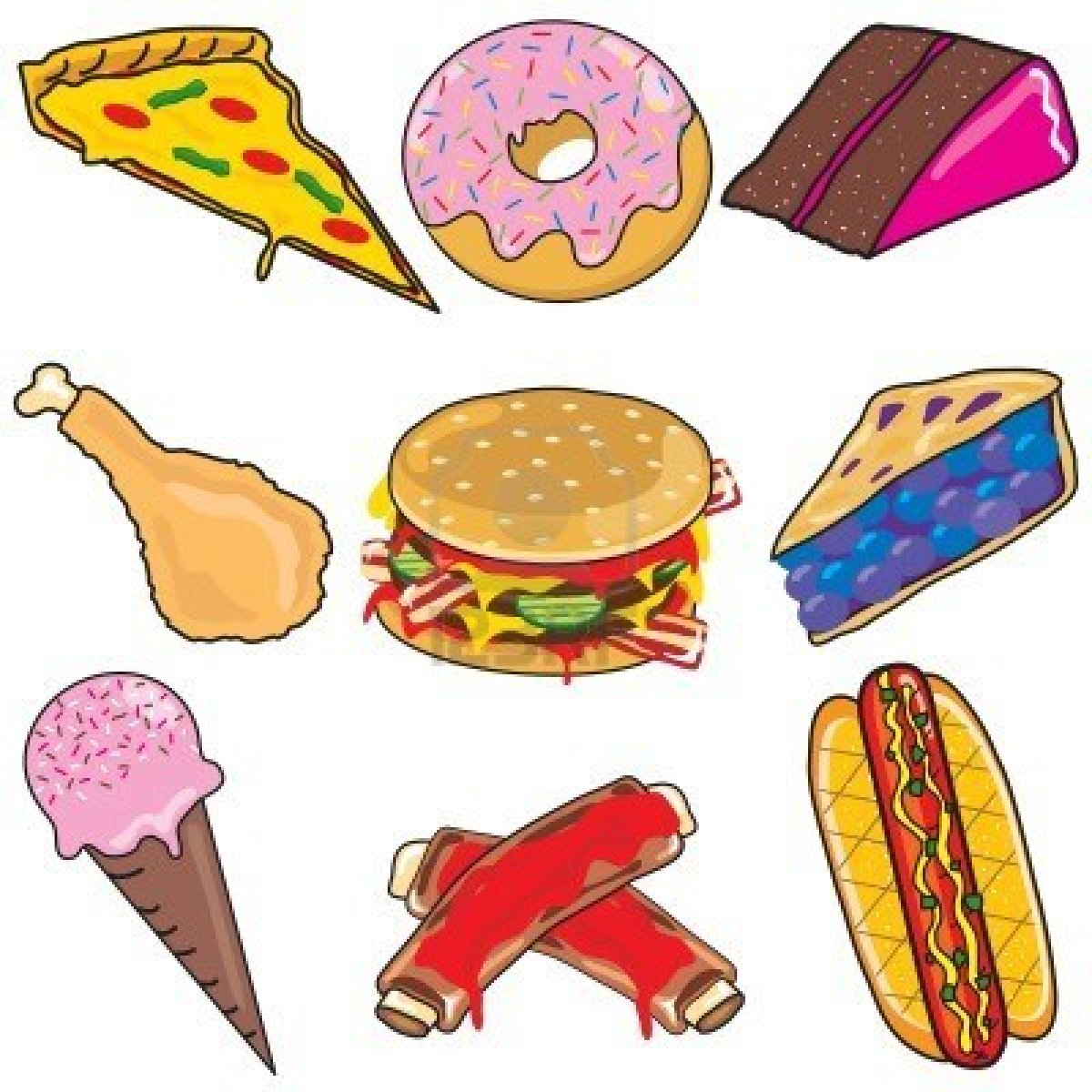 20 food clipart clip art transparent download Food clip art - ClipartFest clip art transparent download