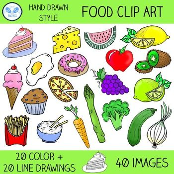 20 food clipart clip art library download Food Clip Art - Fruit, Vegetables, and More | Clip Art Corner ... clip art library download