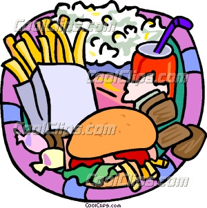 20 food clipart jpg library Junk Food Snacks Clipart | Clipart Panda - Free Clipart Images jpg library