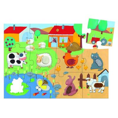 20 piece puzzle image clipart banner transparent Puzzle Giant Puzzle: Tactiloferme banner transparent