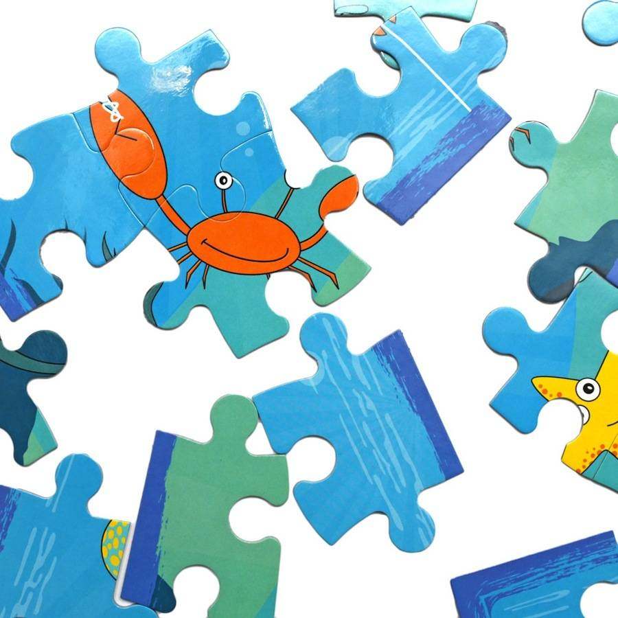 20 piece puzzle image clipart vector free library Totally Clawsome® 20 Piece Jigsaw Puzzle vector free library