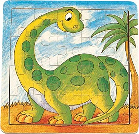 20 piece puzzle image clipart jpg download Puzzled Wooden Dinosaur Jigsaw Puzzle (20 Piece) jpg download